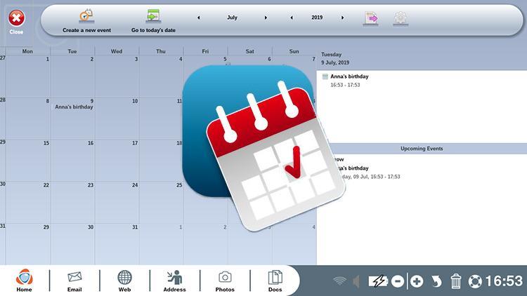 Using your calendar