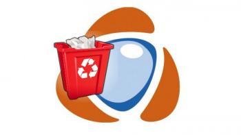 Documents trash bin
