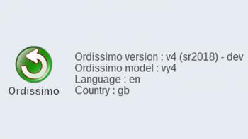 Ordissimo version